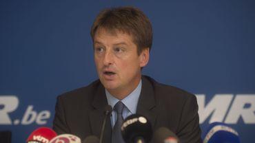 Olivier Chastel, président du MR