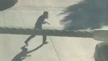 Attentat de New York: Image du suspect qui prend la fuite