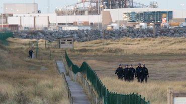 Les contrôles ont été renforcés à la côte pour limiter le flux de migrants venant de France