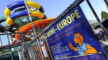 Une vue d'Océade et de Mini Europe