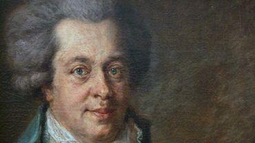 La lettre du compositeur Wolfgang Amadeus Mozart (1756-1791) a été très disputée aux enchères