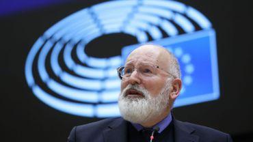 Frans Timmermans, vice président de la Commision européenne en charge du Green Deal