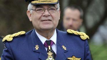 Le général Gérard Van Caelenberghe
