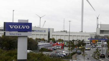 L'usine Volvo de Gand.