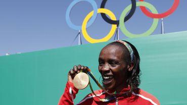 Athlétisme: la kényane Jemima Sumgong suspendue 4 ans