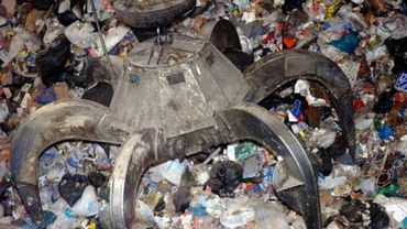 Il arrive que tous les déchets arrivent sans distinction à l'incinérateur