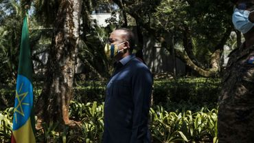 Le Premier ministre éthiopien Abiy Ahmed, le 17 novembre 2020 à Addis Abeba
