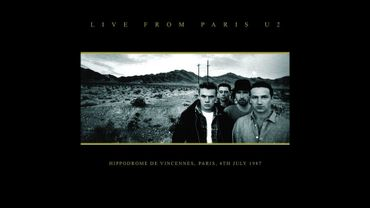 Le Live From Paris de U2 en 1987