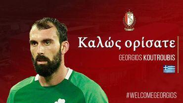 Le Standard engage le défenseur Georgios Kourtoubis