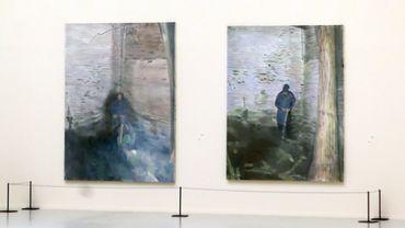 Rétrospective de 100 tableaux et 80 dessins du peintre contemporain belge Luc Tuymans à la Museums' Gallery Al-Riwaq à Doha au Qatar
