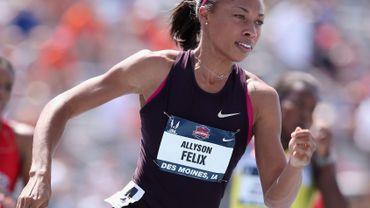 Felix remporte le 200 m en 22.41 à Londres