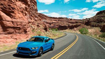 La Ford Shelby GT350 Mustang prête à bondir en 2018