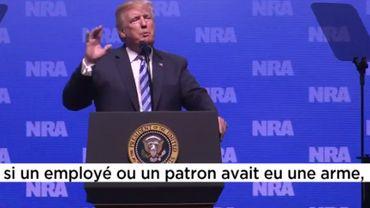 Trump et les armes