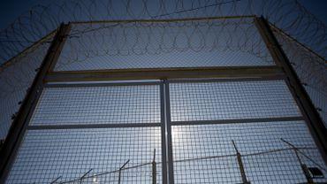 Une clôture à Ceuta