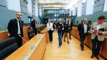 Première visite du parlement pour les nouveaux élus, le 30 mai dernier.
