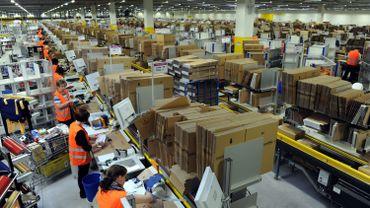Les ateliers d'Amazon à Bad Hersfeld (Illustration)
