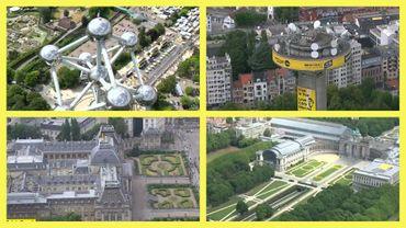Tour de France: les communes de Bruxelles traversées par les coureurs vues du ciel