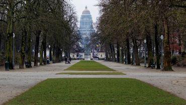 Rafales de vents à Bruxelles : les espaces verts fermés
