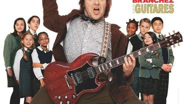 """Sorti en 2003, """"Rock Academy"""" avait valu une nomination au Golden Globe du meilleur acteur dans une comédie à Jack Black"""