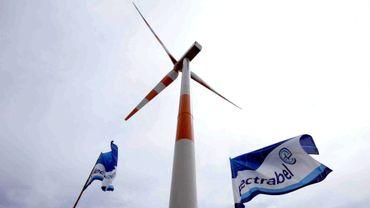 Une éolienne sur le site de  Roderhohe