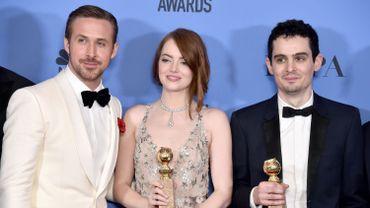 Ryan Gosling, Emma Stone et Damien Chazelle