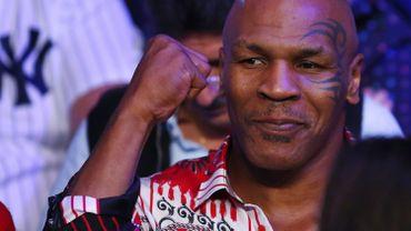 Mike Tyson allume les Belges avant Belgique-USA