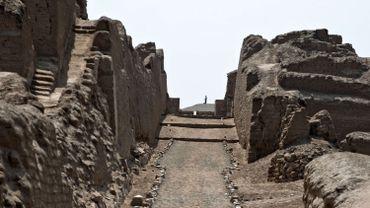 Le site de Pachacamac, au Pérou