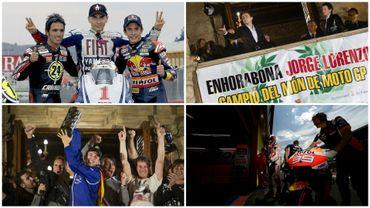 Jorge Lorenzo, triple champion du monde Moto GP, annonce...