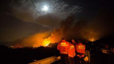 """""""L'incendie le plus important"""" survenu cette année en Espagne."""