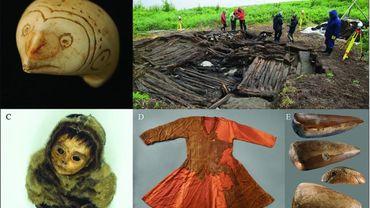 Quelques unes des découvertes archéologiques faites en Arctique