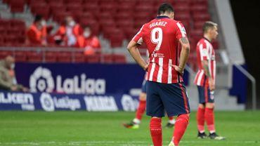Luis Suarez peut être déçu du résultat de son équipe