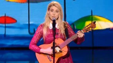 """Dans une vidéo publiée sur Facebook, l'humoriste explique qu'elle avait été chargée de composer une """"déclaration d'amour à la France"""""""
