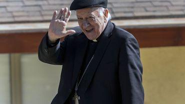 L'archevêque de Santiago, le cardinal italien Ricardo Ezzati.