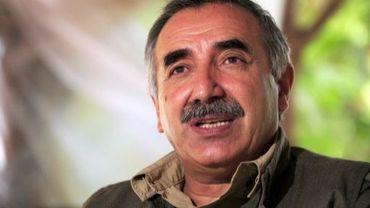 Le commandant militaire du PKK, Murat Karayilan, dans les montagnes Qandil le 28 octobre 2009