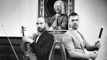 Le violoniste Patrizio Germone et le flûtiste Matteo Gemolo sont nos 1ers invités ce dimanche.