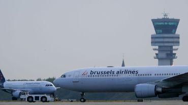 Des avions de Brussels Airlines