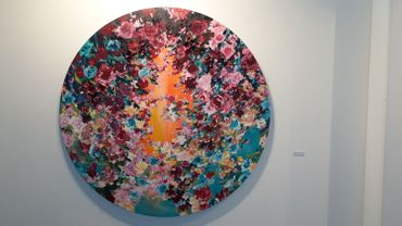 Arne Quinze - Art Brussels 2018 RTBF - Françoise Brumagne 2018