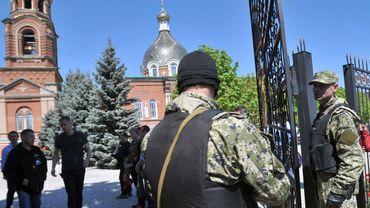 Ukraine: mobilisation pour la libération de sept observateurs de l'OSCE