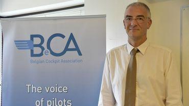 Alain Vanderweireldt, président de la Belgian Cockpit Association (BeCA)