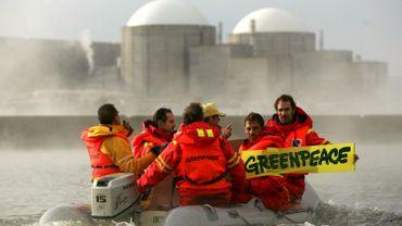 Almaraz avait déjà fait l'objet de protestations de la part de Greenpeace.