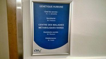 Centre des maladies métaboliques rares du CHU de Liège