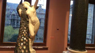 La femme au paon, Philippe Wolfers