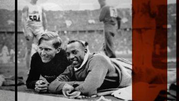 Les JO de 1936 avec l'athlète afro-américain Jesse Owens