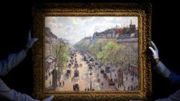 Un tableau de Pissarro vendu 24 millions d'euros à Londres, nouveau record