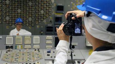 """""""Tour Tchernobyl"""" dans l'ancienne centrale nucléaire d'Ignalina en Lituanie"""