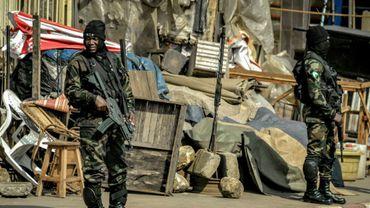 Des soldats à Bamenda au Cameroun le 17 novembre 2017