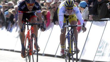 Chavanel gagne la 3e étape en finisseur à Dunkerque