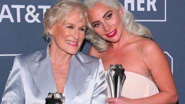 Glenn Close et Lady Gaga ont reçu le prix de la meilleure actrice dans un film dramatique aux Critics Choice Awards 2019.
