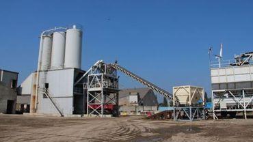 Viabuild! souhaite valoriser ses déchets pour la fabrication de sable et de béton (illustration).