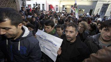 Les marcheurs afghans sont arrivés à Gand